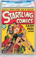 Golden Age (1938-1955):Superhero, Startling Comics #1 Mile High Pedigree (Better Publications, 1940) CGC NM+ 9.6 White pages....