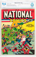 Golden Age (1938-1955):Superhero, National Comics #9 Mile High Pedigree (Quality, 1941) CBCS NM+ 9.6 White pages....