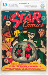 All Star Comics #8 (DC, 1942) CBCS GD- 1.8 Off-white pages