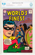 Silver Age (1956-1969):Superhero, World's Finest Comics #100 (DC, 1959) CBCS VF/NM 9.0 Off-white pages....