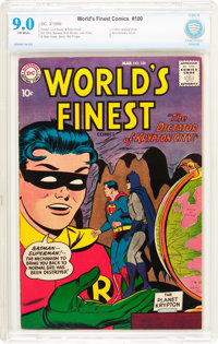 World's Finest Comics #100 (DC, 1959) CBCS VF/NM 9.0 Off-white pages