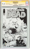 Modern Age (1980-Present):Horror, Walking Dead #1 Wizard World Nashville Sketch Edition - SignatureSeries (Image, 2015) CGC NM/MT 9.8 White pages....