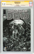 Modern Age (1980-Present):Horror, Walking Dead #1 Wizard World Minneapolis Sketch Edition - SignatureSeries (Image, 2015) CGC NM/MT 9.8 White pages....