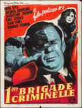 """Movie Posters:Foreign, Première Brigade Criminelle (Universal International, 1962). French Grande (47"""" X 63""""). Foreign.. ..."""