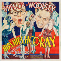 "Hips, Hips, Hooray (RKO, 1934). Six Sheet (79.5"" X 80""). Comedy"