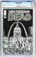 Modern Age (1980-Present):Horror, Walking Dead #1 Wizard World St. Louis Sketch Edition (Image, 2015)CGC MT 10.0 White pages....