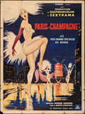 """Movie Posters:Foreign, Paris Champagne (Cocinor, 1962). French Grande (47"""" X 63"""").Foreign.. ..."""
