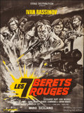 """Movie Posters:Foreign, The Seven Red Berets (Etoile, 1969). French Grande (45"""" X 60.5""""). Foreign.. ..."""
