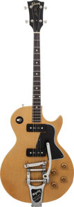 Musical Instruments:Electric Guitars, 1957 Gibson Les Paul Special Tenor TV Yellow Solid Body ElectricGuitar, Serial # 7 8145, Weight: 7.5 lbs....
