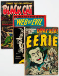 Golden Age (1938-1955):Horror, Comic Books - Assorted Golden and Silver Age Horror Comics Group of14 (Various Publishers, 1953-61) Condition: Average VG-.... (Total:14 Comic Books)