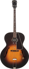 Musical Instruments:Electric Guitars, 1938 Gibson EST-150 Sunburst Archtop Tenor Electric Guitar, Serial# 1327 C, Weight: 6 lbs....