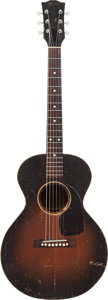 Musical Instruments:Acoustic Guitars, 1950 Gibson LG2 3/4 Sunburst Acoustic Guitar, Serial # 3504....