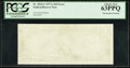 Error Notes:Blank Reverse (100%), Fr. 2024-C $10 1977A Federal Reserve Note. PCGS Choice New 63PPQ.. ...