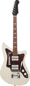 Musical Instruments:Electric Guitars, 1960's EKO Model 500 Pearloid Solid Body Electric Guitar, Weight:7.8 lbs....