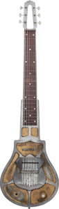 Musical Instruments:Lap Steel Guitars, 1936 National Silver Lap Steel Guitar, Serial # N126, Weight: 8.4lbs....