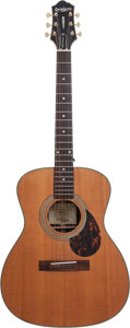 Musical Instruments:Acoustic Guitars, 2011 Epiphone EF-500R NS Natural Acoustic Guitar, Serial # 1004170901....