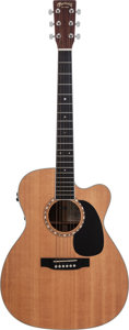 Musical Instruments:Acoustic Guitars, 2004 Martin JC-16R GTE Natural Acoustic Electric Guitar, Serial # 1018596....