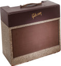 Musical Instruments:Amplifiers, PA, & Effects, Circa 1953 Gibson GA-40 Two-Tone Guitar Amplifier, Serial #55063....