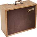 Musical Instruments:Amplifiers, PA, & Effects, Early 1960's Gibson GA-8 Discover Tweed Guitar Amplifier....