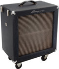 Musical Instruments:Amplifiers, PA, & Effects, 1966 Ampeg B-15N Navy Blue Guitar Amplifier, Serial # 023013....