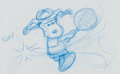 Animation Art:Production Drawing, Peanuts Snoopy Production Drawing (undated). ...