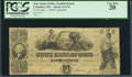Obsoletes By State:Ohio, Columbus, OH- State Bank of Ohio, Franklin Branch $1 Aug. 1, 1848C478 Counterfeit. ...