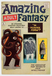 Amazing Adult Fantasy #11 (Marvel, 1962) Condition: GD/VG