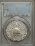 Mexico, Mexico: Republic 8 Reales 1854 Pi-MC AU50 PCGS,...