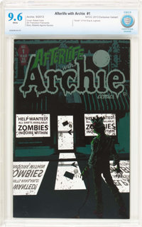 Afterlife with Archie #1 New York Comic Con Exclusive (Archie, 2013) CBCS NM+ 9.6 White pages