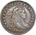 Early Dimes, 1796 10C JR-6, R.3 -- Repaired -- PCGS Genuine. XF Details....