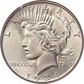 Peace Dollars, 1934 $1 MS66+ PCGS. CAC....