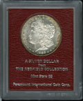 Additional Certified Coins: , 1886-S $1 Morgan Dollar MS65 Paramount International (MS64). Ex:Redfield. Splashes of honey-...