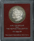 1898-S $1 Morgan Dollar MS65 Paramount International (MS64 Prooflike). Ex: Redfield. This well struck and flashy Redfiel...