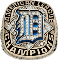 Baseball Collectibles:Others, 2012 Detroit Tigers American League Championship Ring....