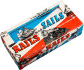 "Non-Sport Cards:Unopened Packs/Display Boxes, 1955 Topps ""Rails and Sails"" 5-Cent Wax Box. ..."