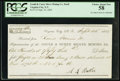 Obsoletes By State:Nevada, Virginia City, Nevada Territory- Gould & Curry Silver Mining Co. Draft $153.33 Sep. 25, 1865...