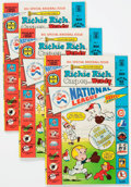 Bronze Age (1970-1979):Cartoon Character, Richie Rich, Casper and Wendy National League #1 File Copy Long BoxGroup (Harvey, 1976) Condition: Average VF....