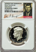 Proof Kennedy Half Dollars, 2014-P 50C Silver High Relief, 50th Anniversary Set, PR69 UltraCameo NGC. PCGS Population (507/139)....
