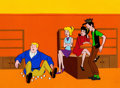Animation Art:Production Cel, The Archie Show Production Cel Setup and Background(Filmation, 1968-77)....