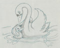 Animation Art:Production Drawing, The Ugly Duckling Layout Drawing (Disney, 1931). ...