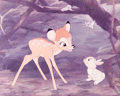 Animation Art:Poster, Bambi/Winnie the Pooh Dye Transfer Print Group of 2(Walt Disney, 1960s).... (Total: 2 Items)