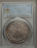 Mexico, Mexico: Republic 8 Reales 1848 Pi-AM AU53 PCGS,...