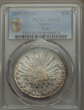 Mexico, Mexico: Republic 8 Reales 1849 Pi-MC AU55 PCGS,...
