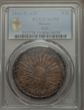 Mexico, Mexico: Republic 8 Reales 1846 Pi-AM AU55 PCGS,...