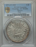 Mexico, Mexico: Republic 8 Reales 1876 Pi-MH AU Details (Cleaning) PCGS,...