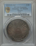 Mexico, Mexico: Republic 8 Reales 1825 Zs-AZ VF Details (Cleaning) PCGS,...