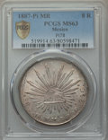 Mexico, Mexico: Republic 8 Reales 1887 Pi-MR MS63 PCGS,...