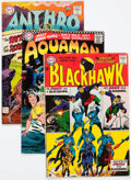 Silver Age (1956-1969):Superhero, Blackhawk and Other DC Silver and Bronze Age Titles Long Box Group (DC, 1960s-70s) Condition: Average GD/VG....
