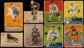 Baseball Cards:Lots, 1930's Vintage Canadian Baseball & Hockey Card Collection (41)With HoFers & '35 Ruth Book. ...