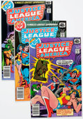 Modern Age (1980-Present):Superhero, Justice League of America #153-187 Near Complete Range Long BoxGroup (DC, 1980s) Condition: Average VF....